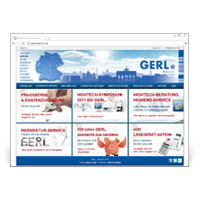 Webdesign GERL Dental
